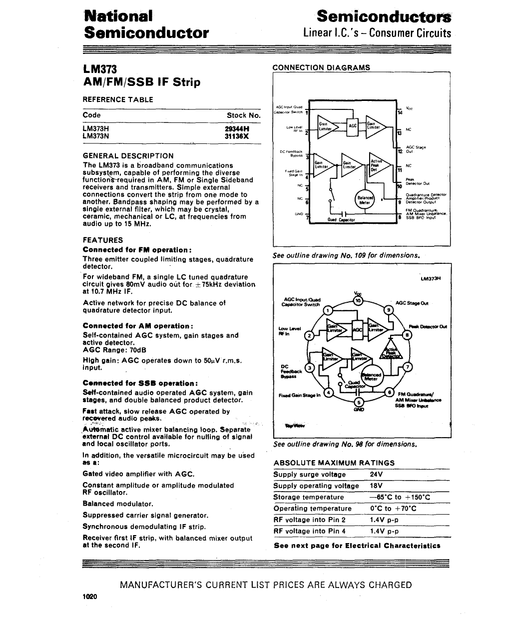 LM373 pdf | Projects to Try | Pinterest | Pdf