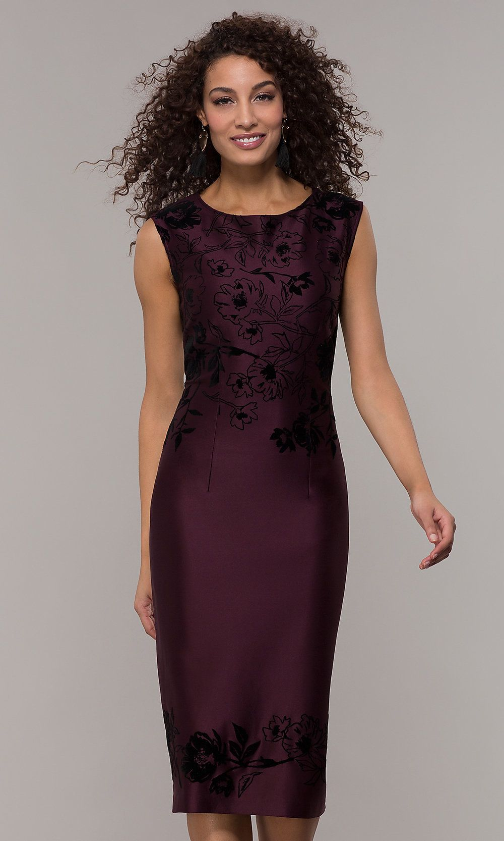 Purple Knee Length Wedding Guest Dress Purple Wedding Dress Wedding Guest Dress Dresses