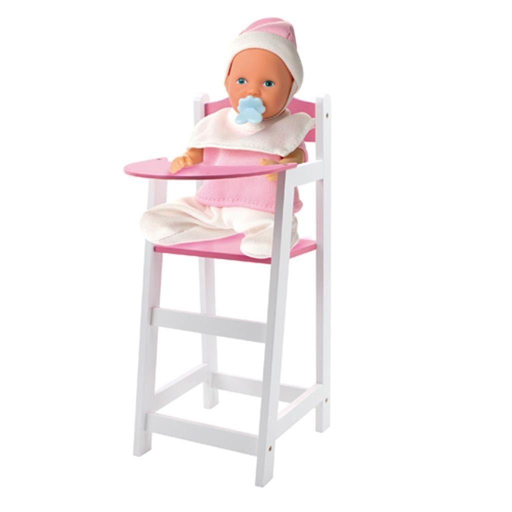 Kinderstoel Met Tafeltje.Poppenstoel Wit En Roze Nieuw Speelgoed En Woonartikelen