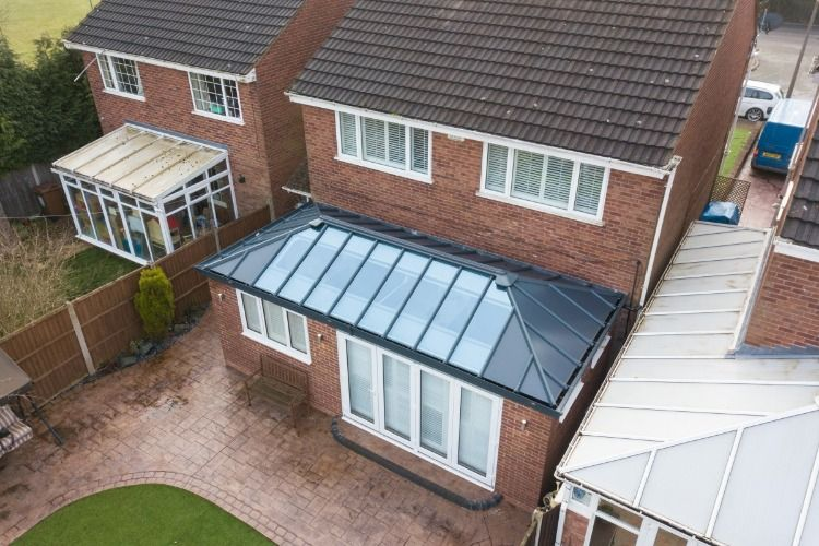 Home Extension With A Livinroof House Extensions Conservatory Roof Conservatory Prices