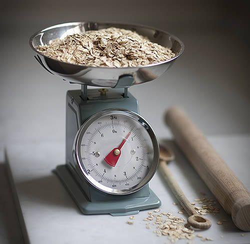 Our Stylish Kitchen Scales Don T Do Half Measures Complete With A Large Easy To Read Dial And Capacity Stainless Steel Bowl