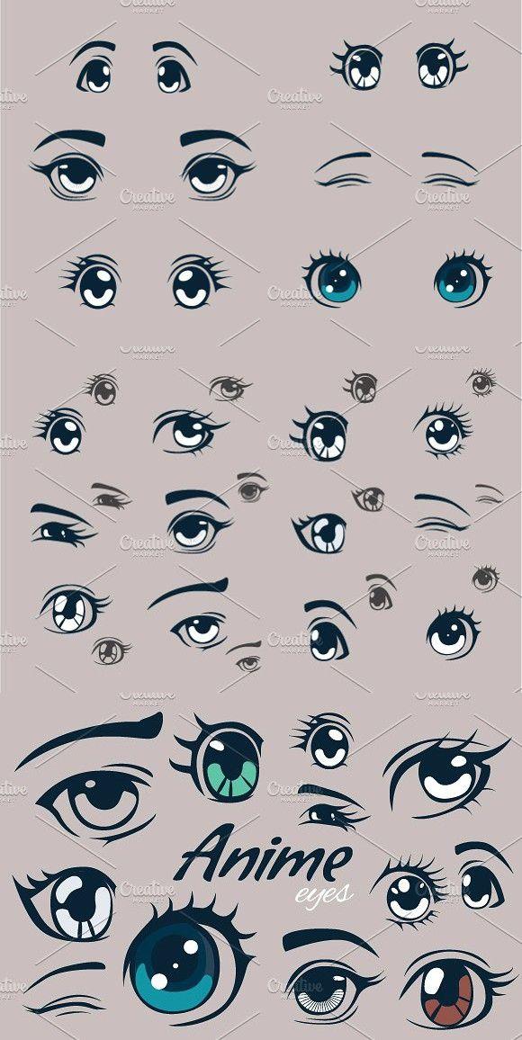 Anime Eyes Girl Eyes Drawing Eye Drawing Cute Eyes Drawing