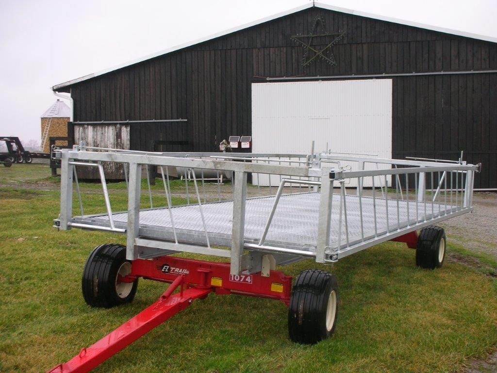 image sold apache hay november bale feeder item wagon auction for round