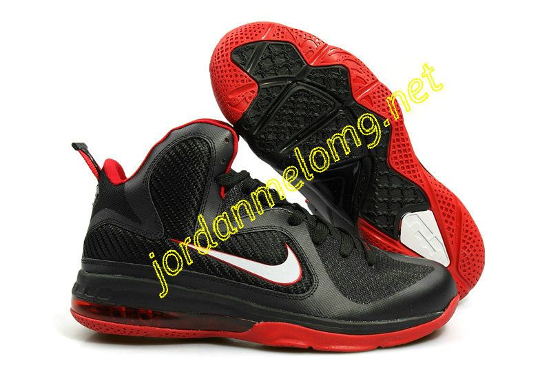 purchase cheap 72351 b62f2 Nike LeBron 9 Black Varsity Red 469764 003