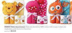 Disney Bath Assortment from Toys R Us Canada $12.99