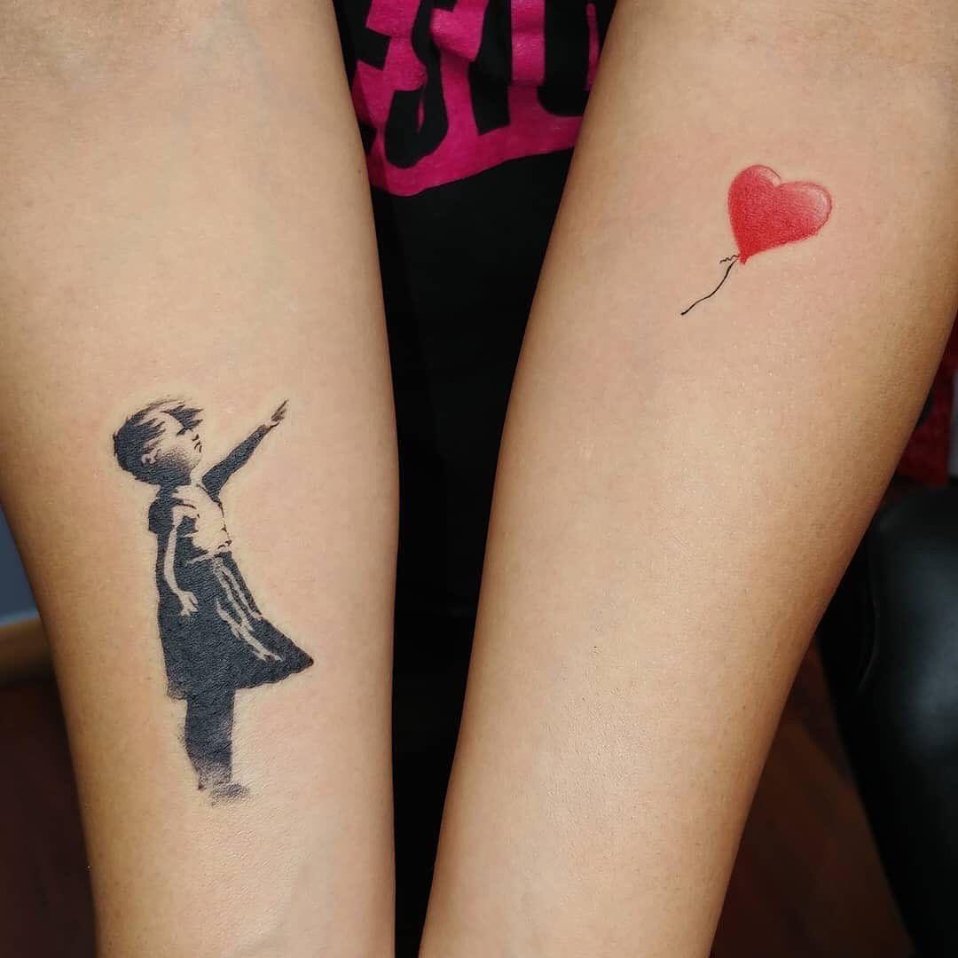 Niña Con Globo Banksy Niños Con Globos Tatuajes Banksy