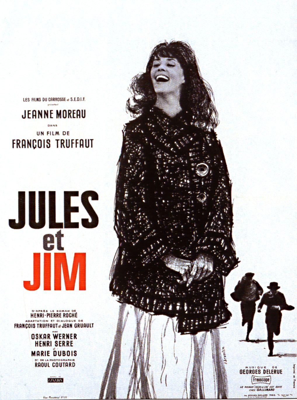 Jules Et Jim Francois Truffaut 1962 Jules Et Jim Francois Truffaut Truffaut Film