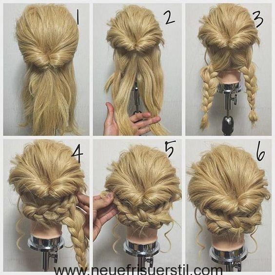 60 Einfach 5 Minuten Kurze Frisur Ideen Fur Vielbeschaftigte Damen Neue Friseur Hochsteckfrisuren Lange Haare Lassige Hochsteckfrisuren Geflochtene Frisuren