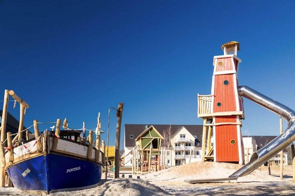 StrandResort Markgrafenheide an der Ostsee