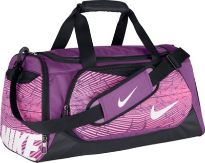 Nike Young Athletes Team Training Small Duffel Bold Berry Black White - via  eBags.com! eab4fafa64f7a