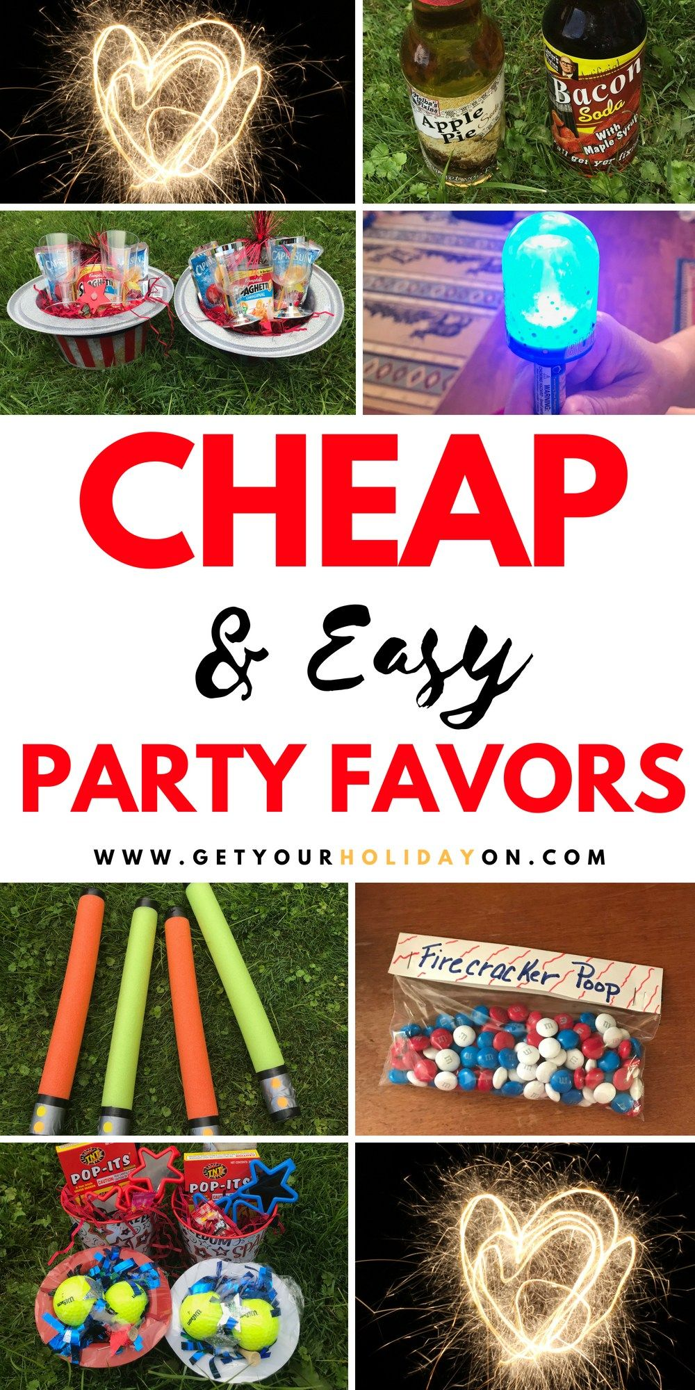 Cheap & Easy Party Favors For Kids Or Adults #Budgetfriendly