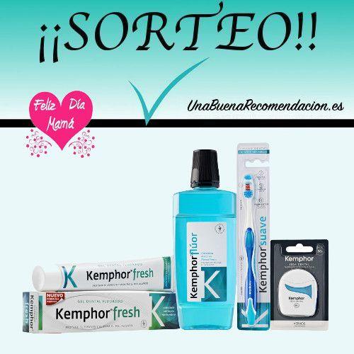 Sorteo Día de la Madre, Lote Higiene Bucodental Kemphor