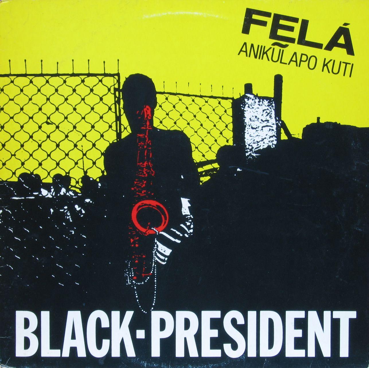 Fela Kuti Black President Blue Note Vintage Rare Album Covers
