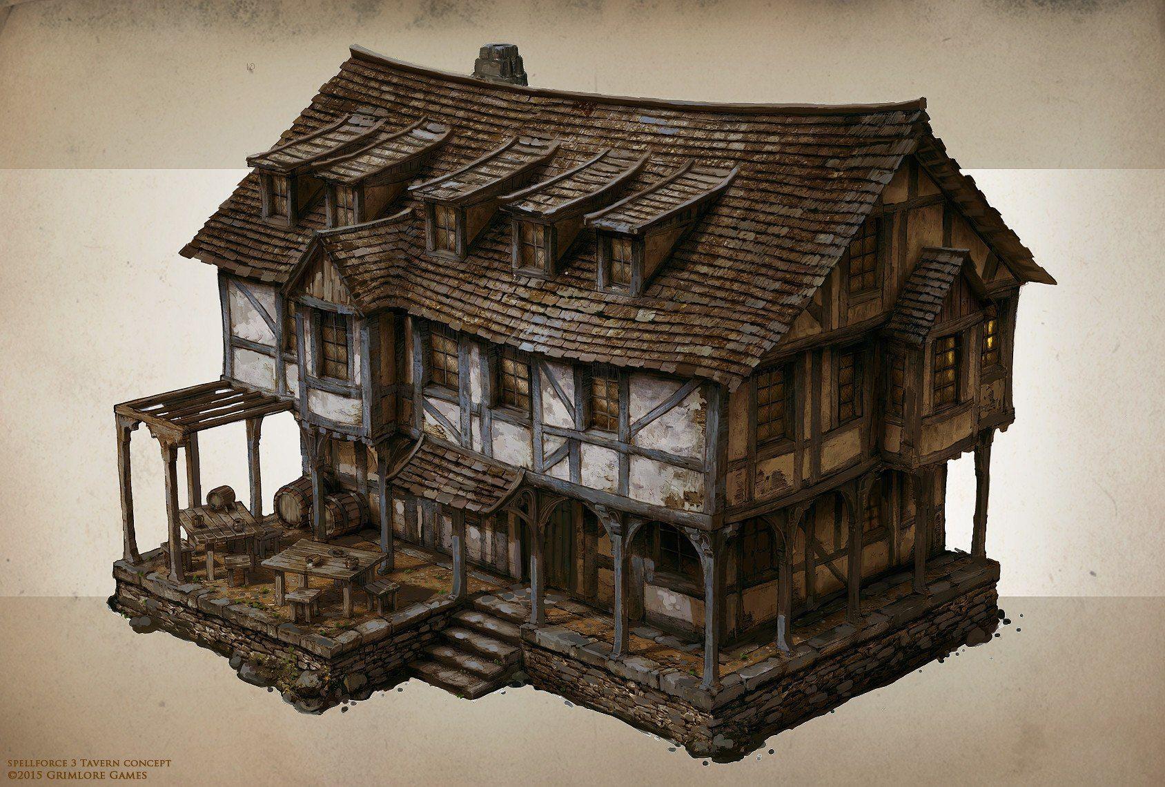 iCONCEPTi iARTi iBuildingi iconcepti Fantasy house iConcepti iarti