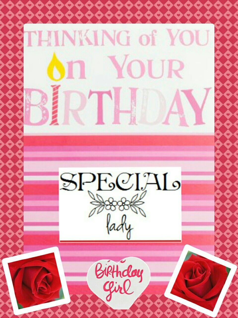 Medium Of Happy Birthday To A Special Lady