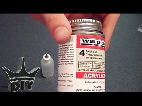 How To Glue Acrylic Plexiglass Youtube Acrylic Diy