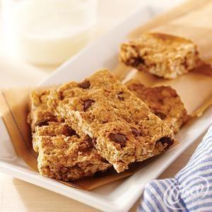 Crunchy Peanut Butter Oatmeal Bars Recipe Peanut Butter Oatmeal Bars Oatmeal Bars Peanut Butter Oatmeal