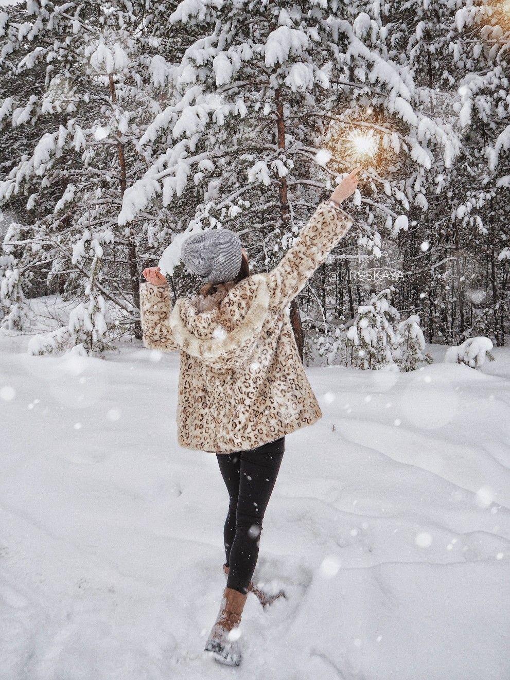 наши падающий снег на фото в инстаграм пышными бедрами