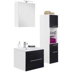 Photo of Posseik bathroom furniture set Viva black / white PosseikPosseik