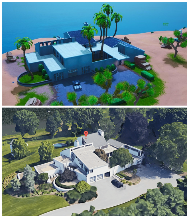 John Wick House Added To Fortnite S Paradise Palms In Season 9