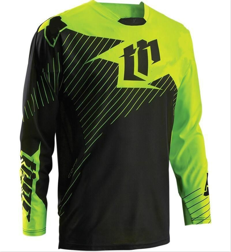Download 2017 Outdoors Motocross Jerseys Mountain Bike Bicycle Cycling Jersey Wear Quick Dry Clothing Racing Shirt Cycling Outfit Mountain Bike Clothing Racing Shirts