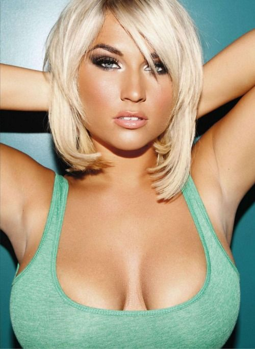 busty blonde Hottest