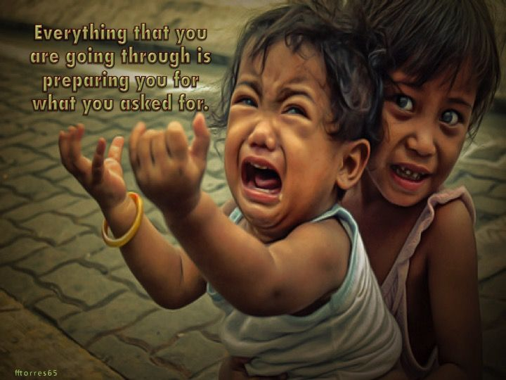 EVERYTING THAT YOU ARE GOING THROUGH.....