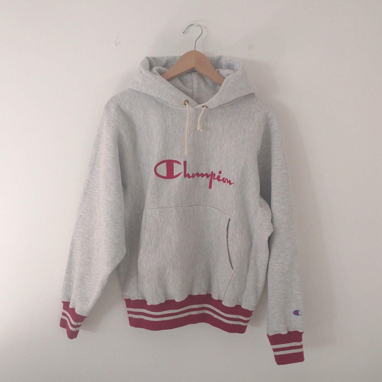 Vintage Champion Reverse Weave Hooded Sweatshirt Hoodie Etsy Sweatshirts Hooded Sweatshirts Sweatshirts Hoodie [ 1499 x 1500 Pixel ]