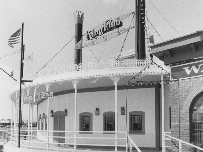The King Fish Was A Popular Seafood Spot In The 70s Located On