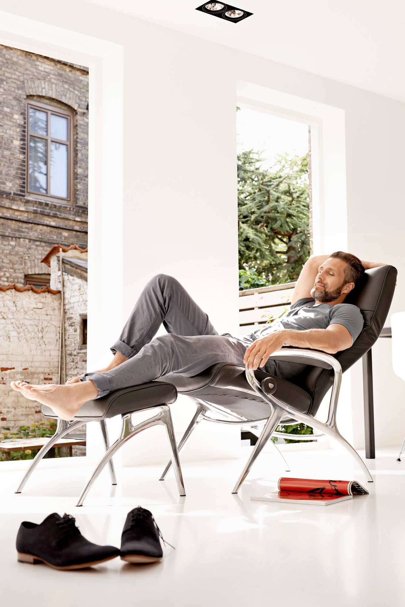 Relaxsessel Stressless Wellness Für Mich Stressless You Michael Relaxsessel Mit