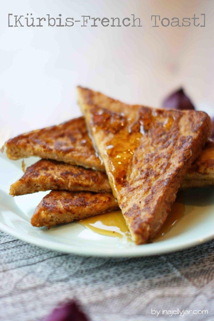 French Toast mit Kürbis | süßer, knuspriger Herbstgruß - ganz einfach aus Toast gemacht!