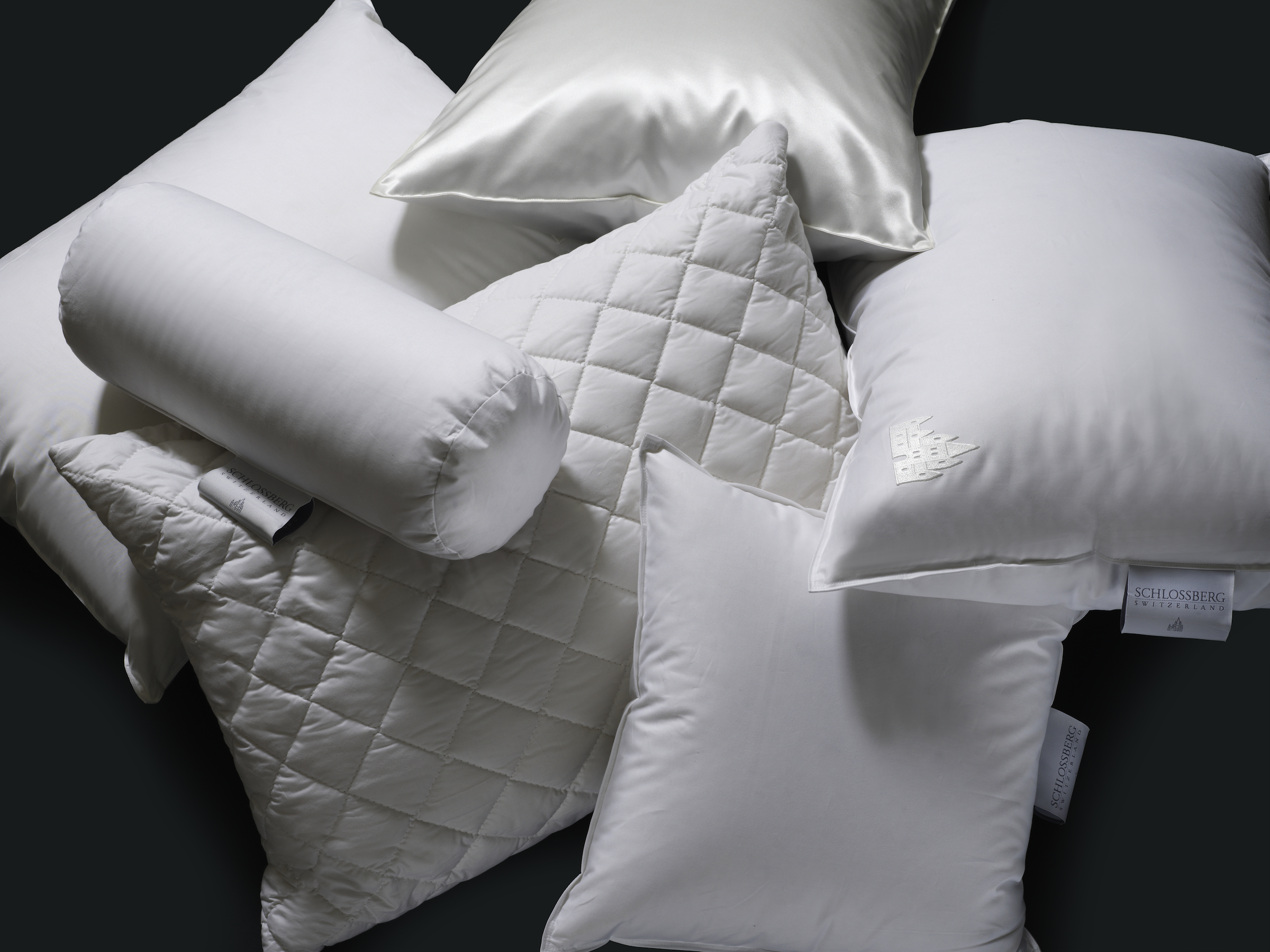 Support your neck for a sound sleep with pillows and