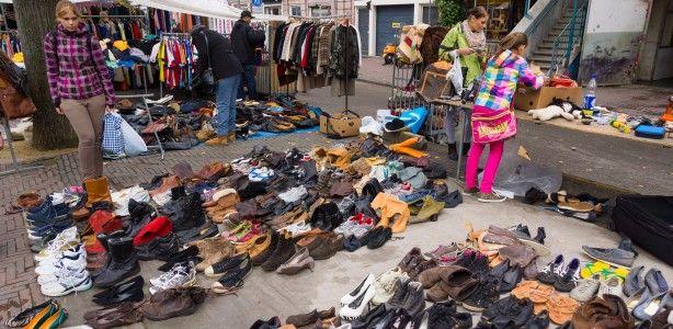 Waterlooplein market Amsterdam