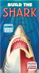 Build the Shark - includes pieces to build a 2 1/2 ft great white shark