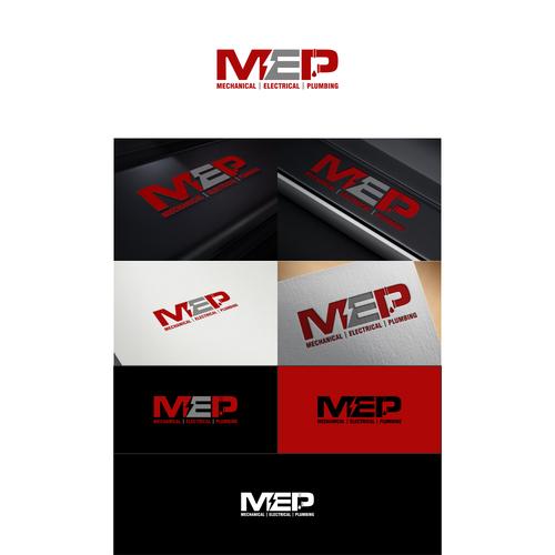 M E P Mep Logo Design We Are A Subcontractor In The Construction