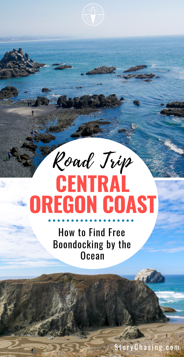 Central Oregon Coast Road Trip: Oceanside Boondocking | Story Chasing