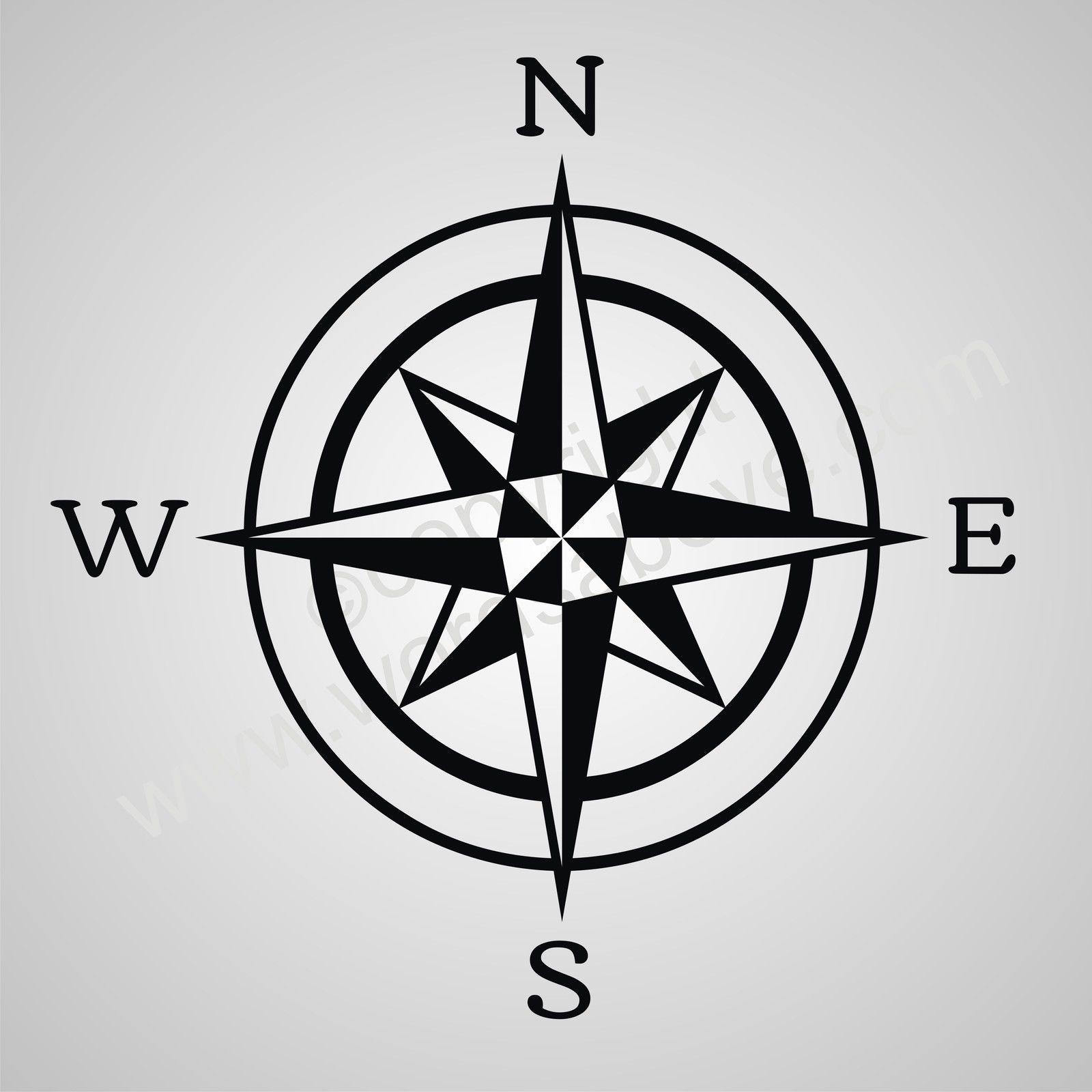 Compass Quotes Quotesgram Compass Star Designs