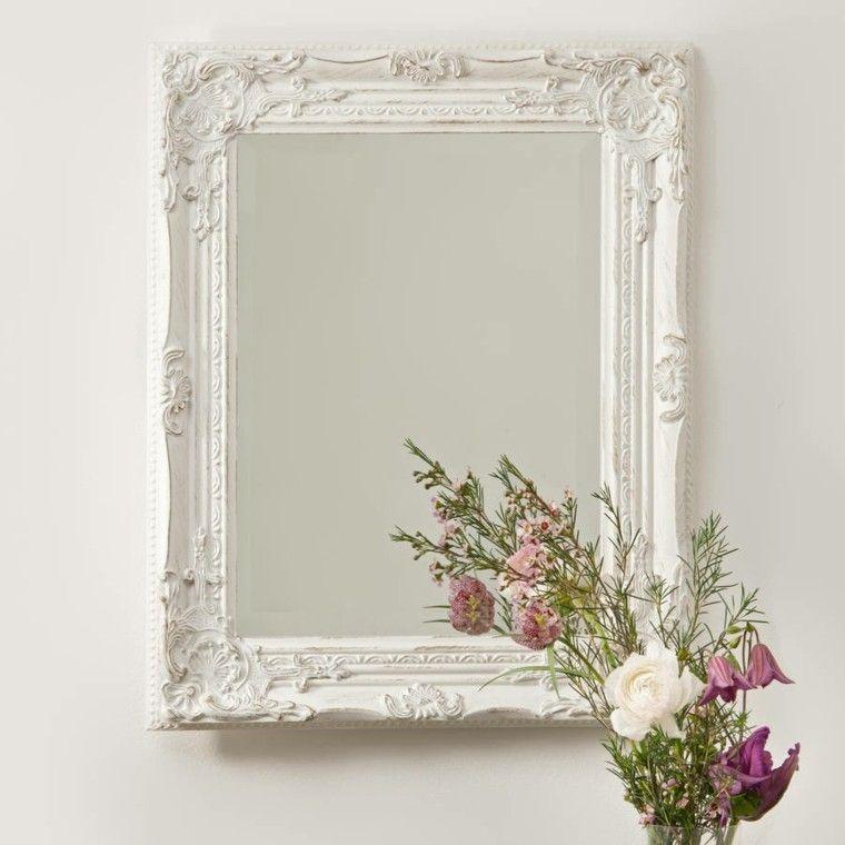 Espejos vintage de estilo romántico - más de 30 diseños | Espejos ...