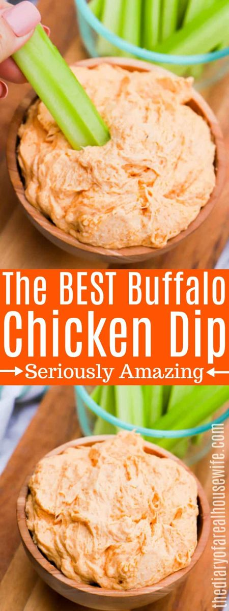 Buffalo Chicken Dip • The Diary of a Real Housewife