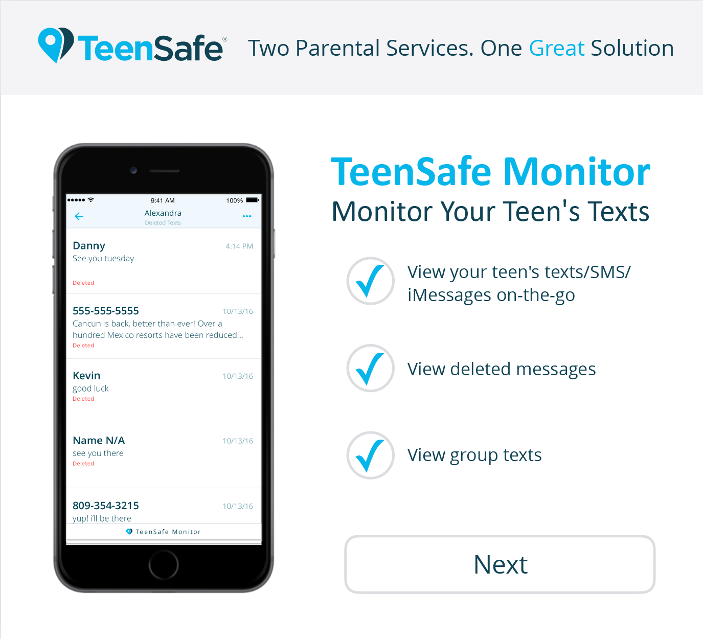 Get Started Today With Teensafe Monitor And Teensafe Control Cyber Safety Parenting Sms