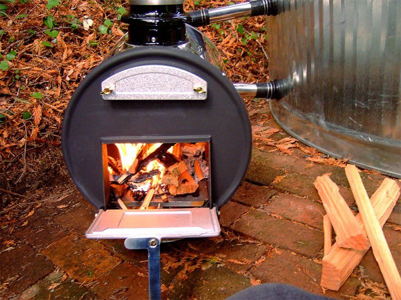 Wood Fired Hot Tub Parts & Accessories Stock tank pool