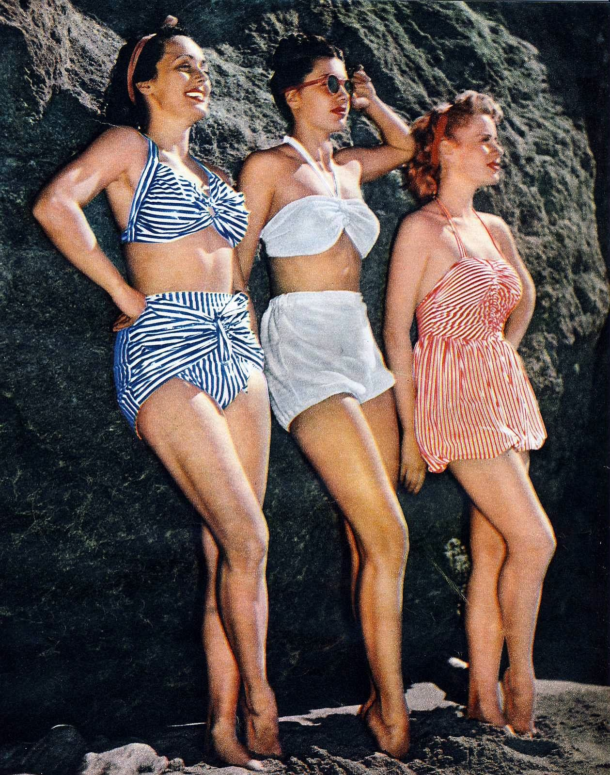 Vintage Bikini Retro Bikini High Waisted Swimsuits