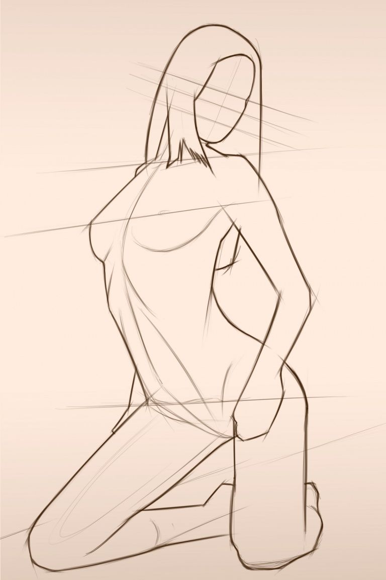 Female Form Sketching   Great Art   Pinterest   Female bodies ...