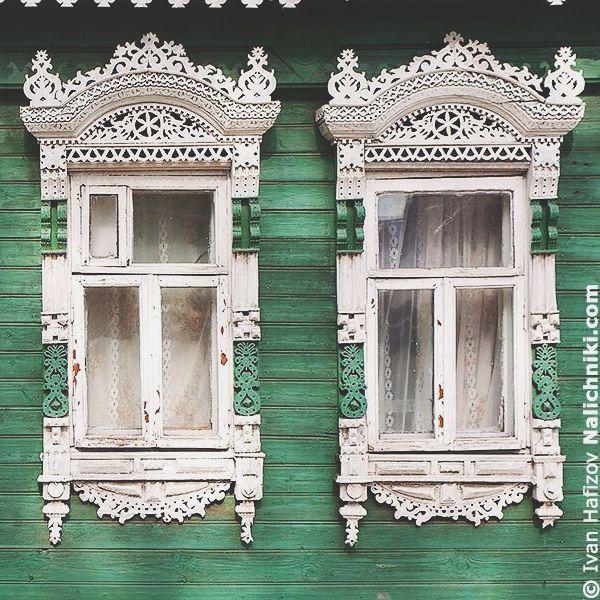 traditional windows, russia