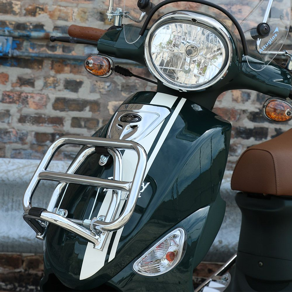Front Rack (Chrome); Buddy Scooter parts, Luggage rack