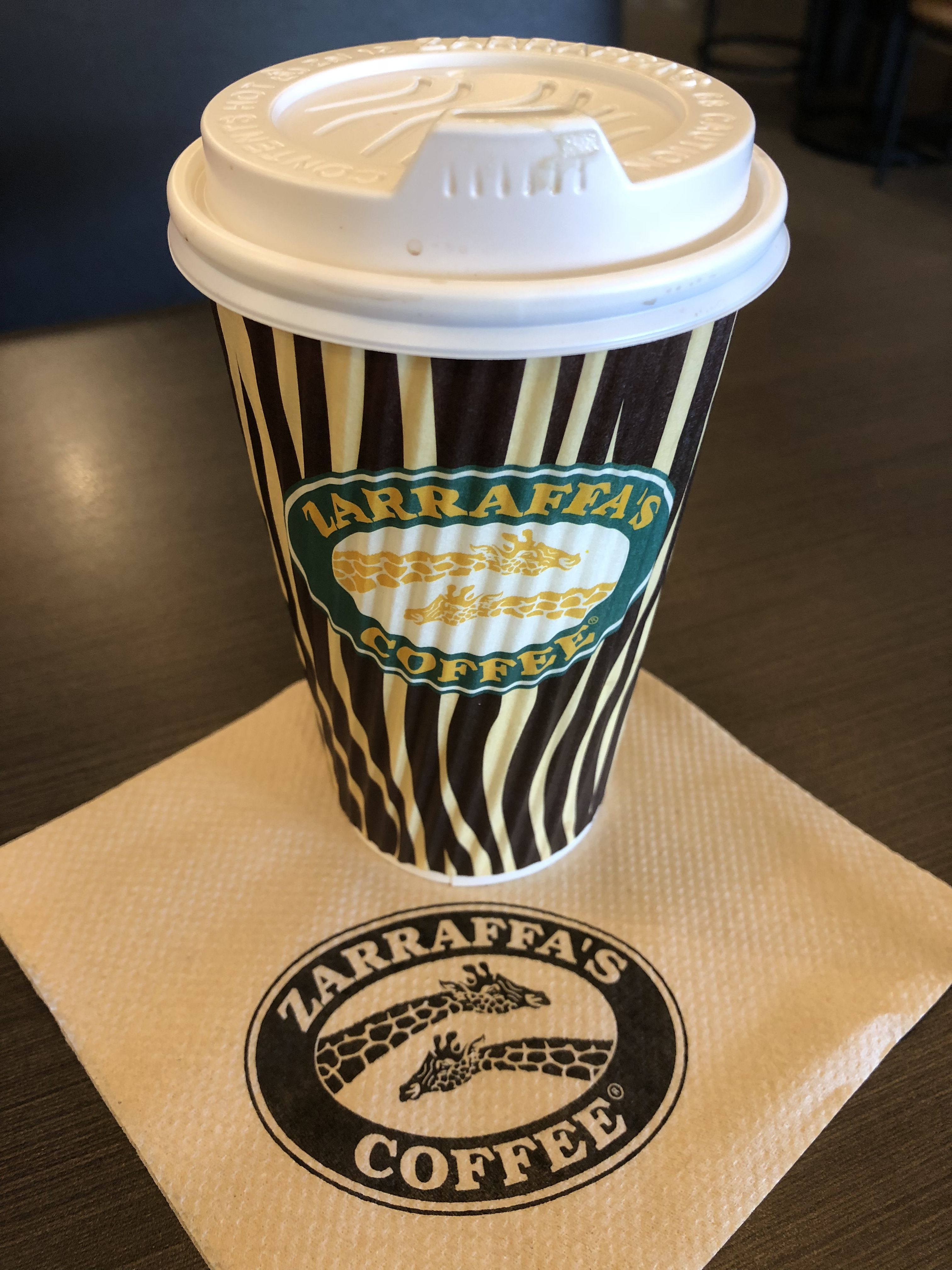 Zarraffas Coffee Is The Best New Cafe Around I Got The Flatwhite Whilst The Wife Had Juice And A Croissant They Ha Coffee Oh Captain My Captain Glassware