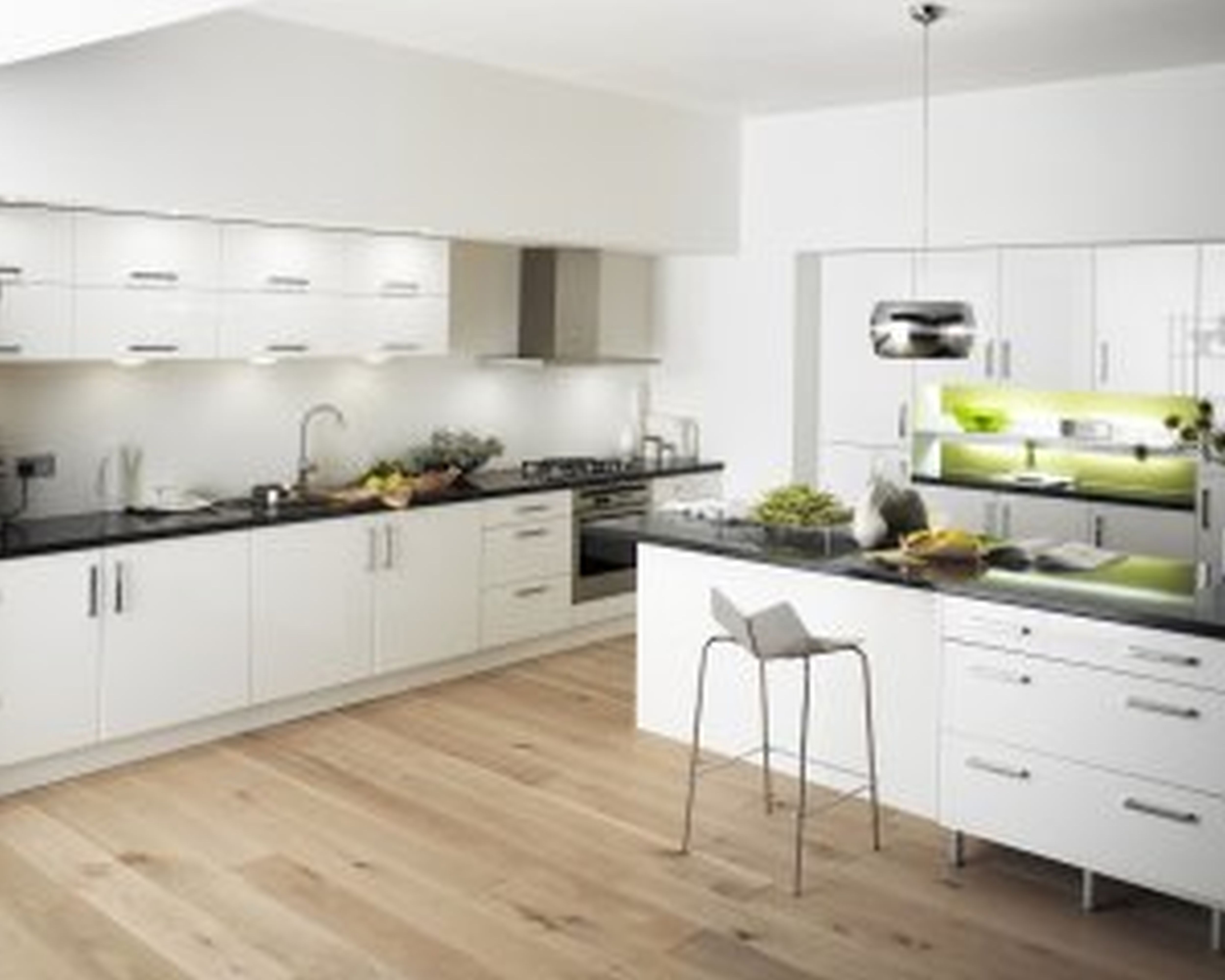 mid century modern white kitchen Google Search Moderne