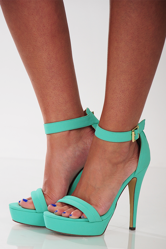 Sweetly Stepping Heel: Mint - Use the promo code HOLLIREP to get 10% off of every order plus get FREE SHIPPING always!