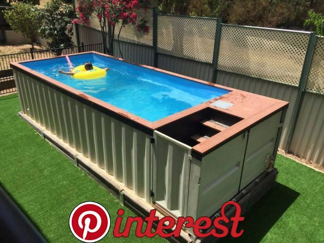 20 Cool Shipping Container Swimming Pools Mortgage Calculator Product Reviews And Local Guides Container Pool Diy Swimming Pool Shipping Container Pool