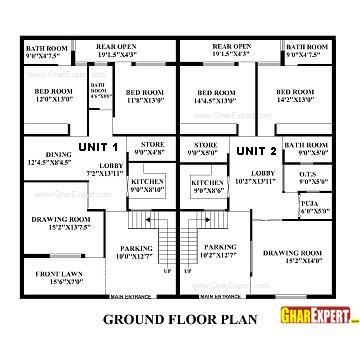 architectural plans (naksha) commercial and residential project